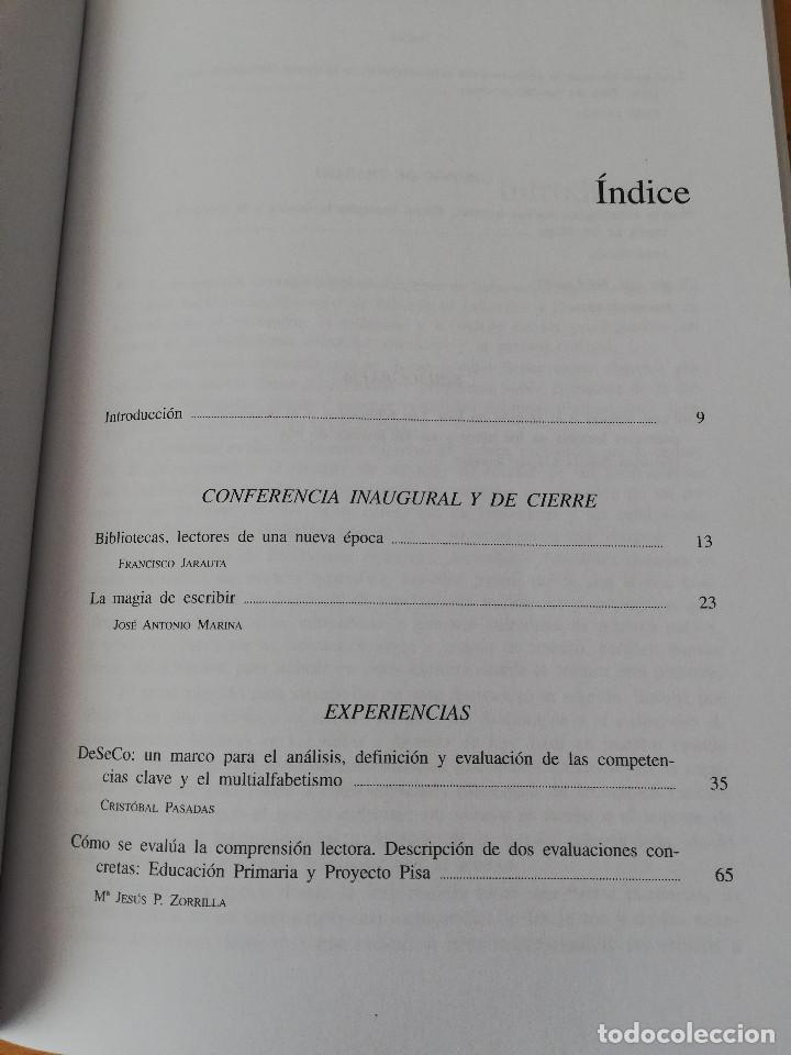 Libros: LEER CON SENTIDO O EL SENTIDO DE LEER (FUNDACIÓN GERMÁN SÁNCHEZ RUIPÉREZ) - Foto 3 - 159380074