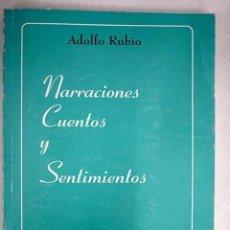 Libros: NARRACIONES, CUENTOS Y SENTIMIENTOS. Lote 159599234