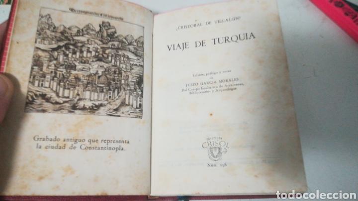 VIAJE DE TURQUÍA. CRISTÓBAL DE VILLALON. COLECCIÓN CRISOL (Libros sin clasificar)
