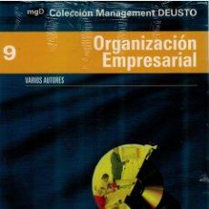 Libros: ORGANIZACION EMPRESARIAL (COL. MANAGEMENT DEUSTO 9) - VARIOS AUTORES. Lote 159929920
