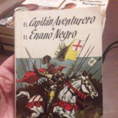 Libri di seconda mano: EL CAPITÁN AVENTURERO Y EL ENANO NEGRO. POR WALTER SCOTT. ED SOPENA 1967. Lote 160050985