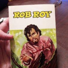 Libri di seconda mano: ROB ROY. POR WALTER SCOTT. ED SOPENA 1966. Lote 160194385
