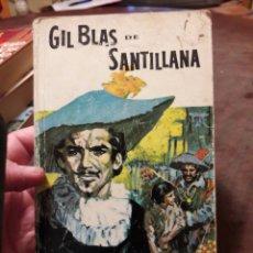 Livros em segunda mão: GIL BLAS DE SANTILLANA. POR ALAIN RENÉ LESAGE. ED SOPENA 1966. Lote 160196033