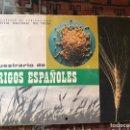 Libros: MUESTRARIO DE TRIGO ESPAÑOLES. Lote 160369488