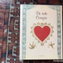 Libros: DE TODO CORAZÓN. ANITA GEIGGES. Lote 160371110