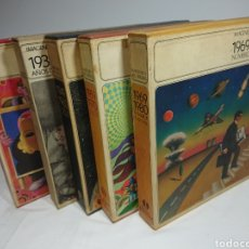 Libros: IMAGENES Y RECUERDOS, DE 1929 A 1980 - DIFUSORA INTERNACIONAL, 5 TOMOS + 5 VINILOS , 1982. Lote 160539208
