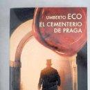 Libros: EL CEMENTERIO DE PRAGA. Lote 160551734
