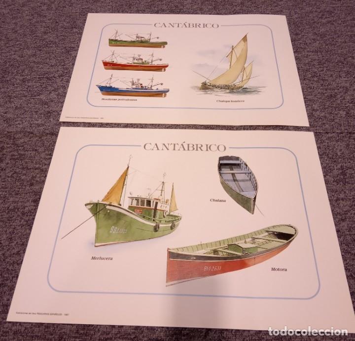 Libros: Carteles de barcos pesqueros para decoración - Varios autores - Foto 3 - 157158833
