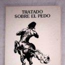 Libros: TRATADO SOBRE EL PEDO. Lote 161039669