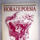Libros: HORA DE POESÍA, NÚMERO 57-58. Lote 161040016