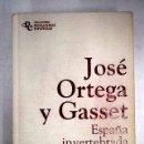 Libros: ESPAÑA INVERTEBRADA. Lote 161040018