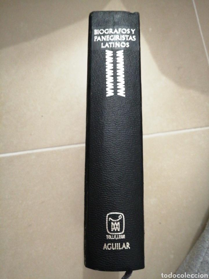 BIOGRAFOS Y PANEGIRISTAS LATINOS, EDITORIAL AGUILAR AÑO 1969 (Libros sin clasificar)