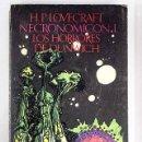 Libros: NECRONOMICON I: LOS HORRORES DE DUNWICH Y OTROS RELATOS. Lote 161188953