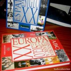 Libros: HISTORIA GRAFICA DEL SIGLO XX- 2 TOMOS . EUROPA Y ESPAÑA. Lote 161246410