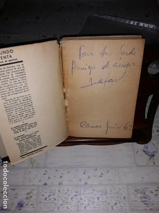 Libros: El mundo a la venta de Rafael de Monteys Firmado por el autor en Caracas año 1962 - Foto 5 - 161619178