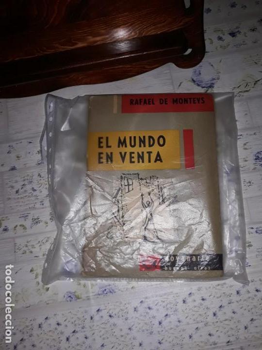 EL MUNDO A LA VENTA DE RAFAEL DE MONTEYS FIRMADO POR EL AUTOR EN CARACAS AÑO 1962 (Libros sin clasificar)