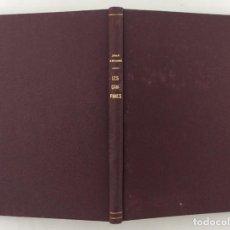 Libros: LES CAMPANES - JOAN AMADES. Lote 160116404