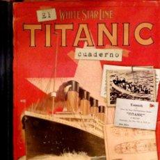 Livros em segunda mão: EL CUADERNO DEL TITANIC. CLAIRE HAWCOCK. EDITORIAL SALDAÑA. 2011.. Lote 161928506