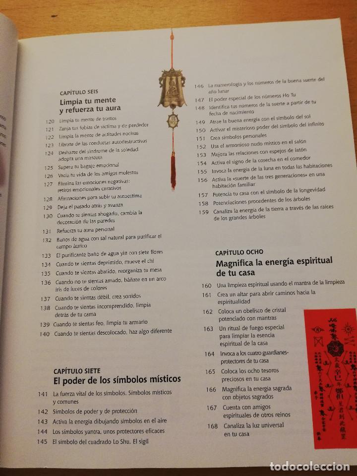 Libros: 168 TRUCOS DE FENG SHUI PARA ORDENAR TU CASA Y MEJORAR TU VIDA (LILLIAN TOO) - Foto 5 - 161928990