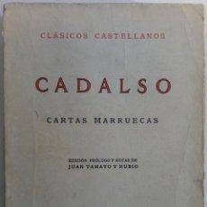 Libros: CARTAS MARRUECAS - CADALSO. Lote 162200500