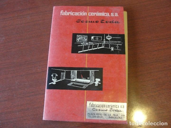 Libros: COSME TODA FABRICACION DE CERAMICA - CON MUESTRAS - SIN USAR - STOCK LIBRERIA - ENVIO GRATIS - Foto 2 - 162289498
