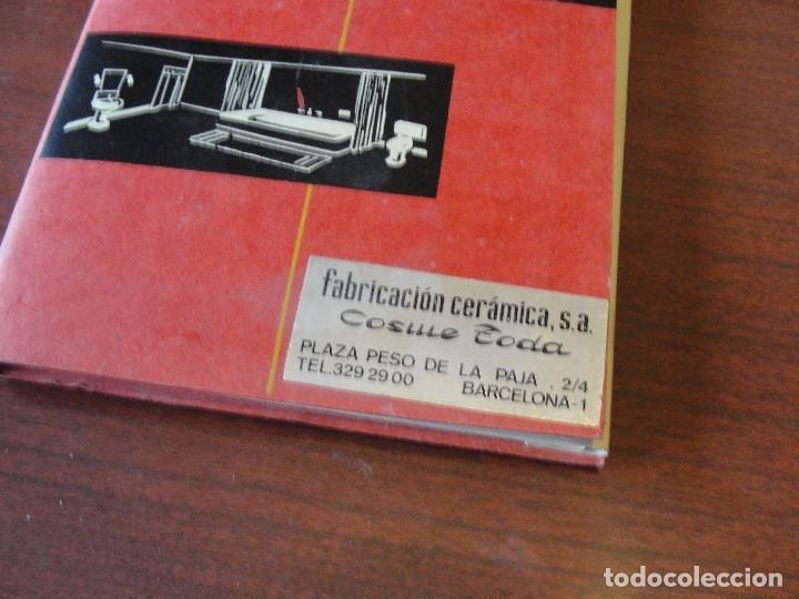 Libros: COSME TODA FABRICACION DE CERAMICA - CON MUESTRAS - SIN USAR - STOCK LIBRERIA - ENVIO GRATIS - Foto 4 - 162289498