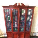 Libros: GRANDES OBRAS EN MINIATURA COLECCIÓN COMPLETA (57 LIBROS) CON VITRINA. Lote 162301750