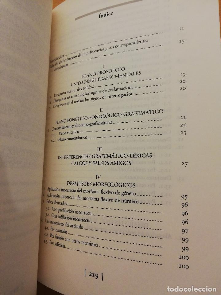 Libros: INTERFERENCIAS LINGÜÍSTICAS EN ALUMNOS MARROQUÍES DE UN CENTRO INTEGRADO DE TITULARIDAD ESPAÑOLA - Foto 3 - 162318598