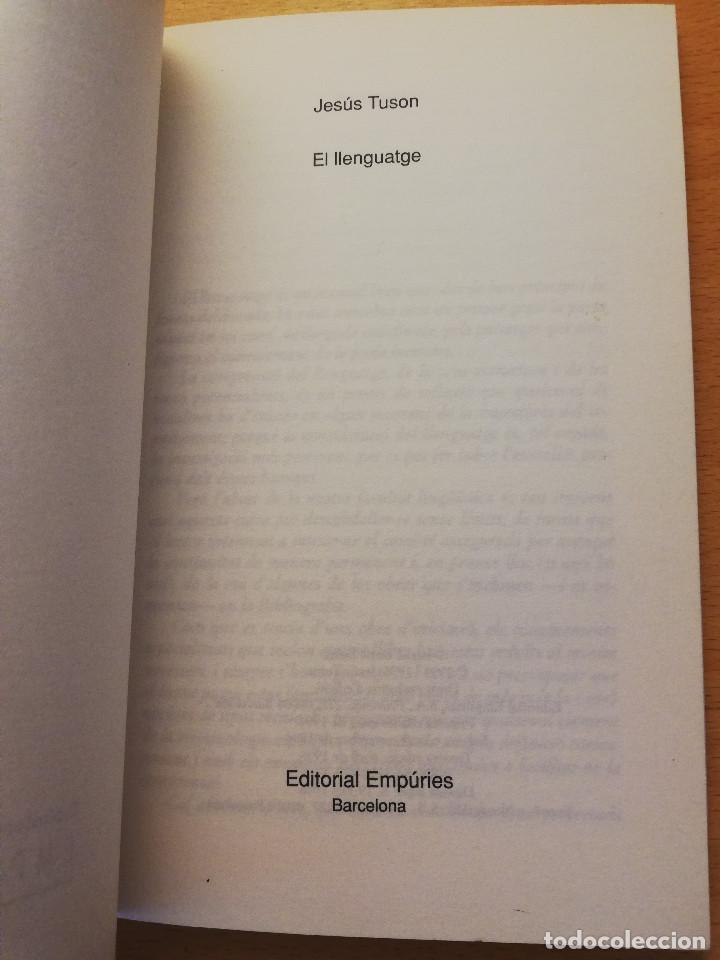Libros: EL LLENGUATGE (JESÚS TUSON) EDITORIAL EMPÚRIES - Foto 2 - 162369022