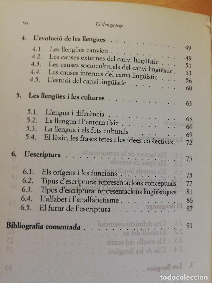 Libros: EL LLENGUATGE (JESÚS TUSON) EDITORIAL EMPÚRIES - Foto 4 - 162369022