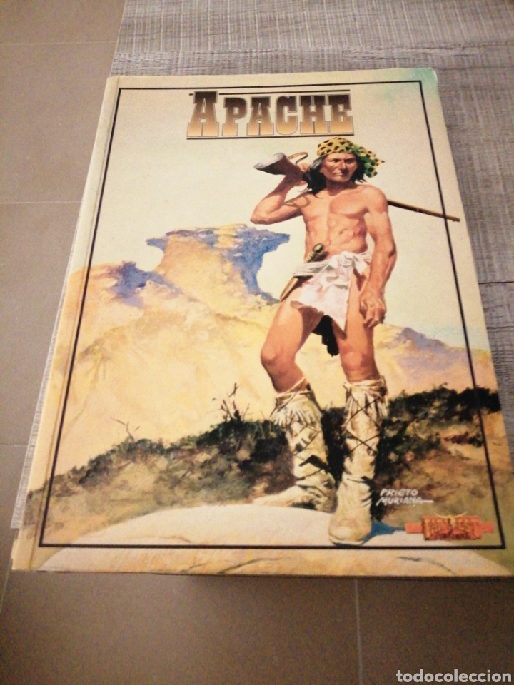 APACHE, SUPLEMENTO OFICIAL PARA FAR WEST JUEGO DE ROL (Libros sin clasificar)