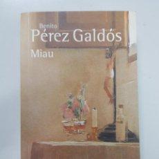 Libros: MIAU (BIBLIOTECA PÉREZ GALDÓS) / BENITO PÉREZ GALDÓS. Lote 194947932