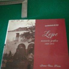 Libros: MEMORIA GRAFICA DE LEPE JUANA OTERO PRIETO. Lote 162560256