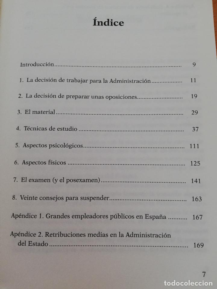 Libros: CÓMO PREPARAR OPOSICIONES ¡Y APROBARLAS! (A. L. FERNÁNDEZ MAGDALENA) EDICIONES CEAC - Foto 3 - 162922390
