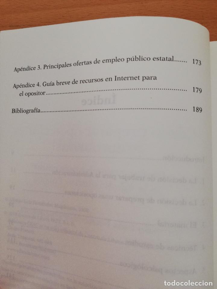 Libros: CÓMO PREPARAR OPOSICIONES ¡Y APROBARLAS! (A. L. FERNÁNDEZ MAGDALENA) EDICIONES CEAC - Foto 4 - 162922390