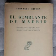 Libros: EL SEMBLANTE DE MADRID - REVISTA DE OCCIDENTE. 1951.. Lote 162925106