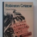 Libros: DANIEL DEFOE-ROBINSON CRUSOE-2000. Lote 163069952