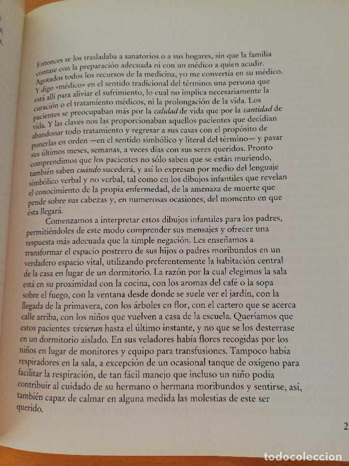 Libros: VIVIR HASTA DESPEDIRNOS (ELISABETH KÜBLER - ROSS, FOTOGRAFÍAS DE MAL WORSHAW) LUCIÉRNAGA - Foto 9 - 163454522