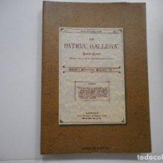 Libros: LA PATRIA GALLEGA. BOLETÍN-REVISTA Y93972. Lote 163711174