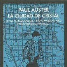 Libros: LA CIUDAD DE CRISTAL - AUSTER, PAUL. Lote 163224884