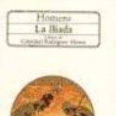 Libros: ILIADA CLASICA -ENVIO GRATIS- - HOMERO. Lote 164378068