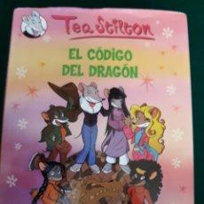 Libros: TEA STILTON EL CÓDIGO DEL DRAGÓN. Lote 164570513