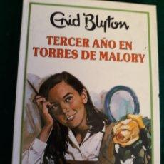 Libros: ENID BLYTON TERCER AÑO EN TORRES DE MALORY. Lote 164570708