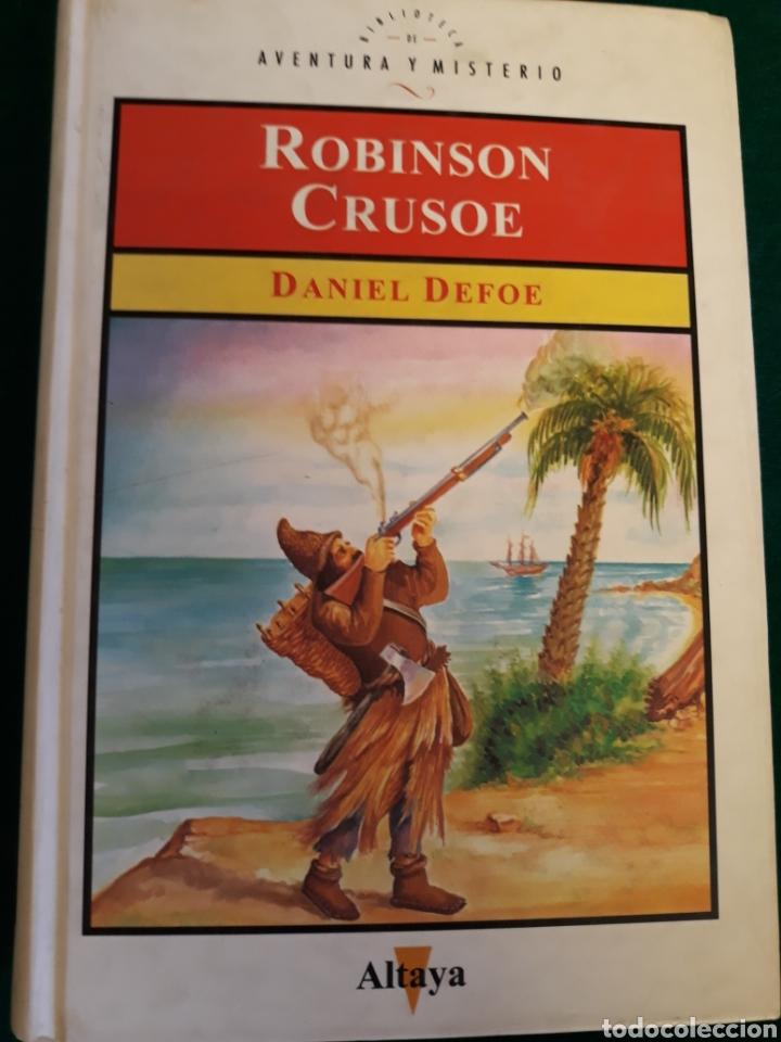 ROBINSON CRUSOE DE DANIEL DEFOE (Libros sin clasificar)