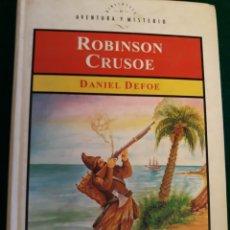 Libros: ROBINSON CRUSOE DE DANIEL DEFOE. Lote 164570817