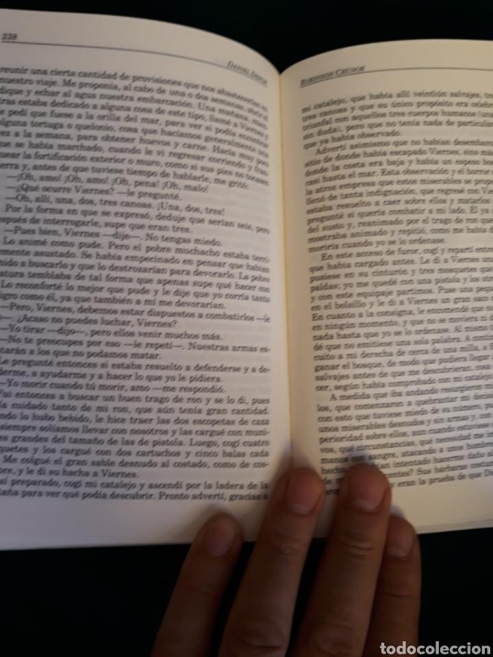 Libros: Robinson Crusoe de Daniel Defoe - Foto 3 - 164570817