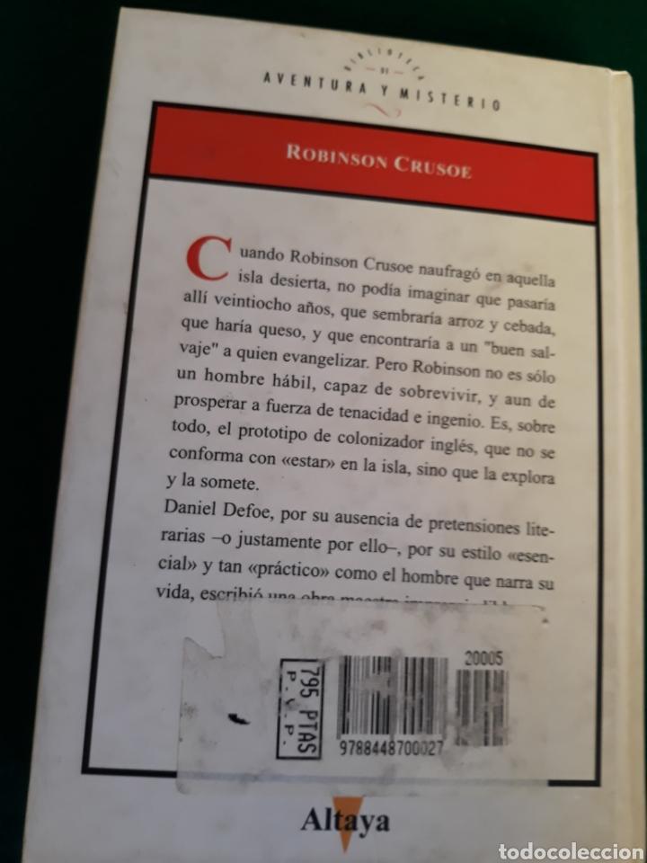 Libros: Robinson Crusoe de Daniel Defoe - Foto 2 - 164570817