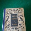 Libros: REBECA DE EDICIONES LA NAVE. Lote 165025629