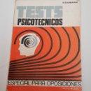 Libros: TESTS PSICOTECNICOS, ESPECIAL PARA OPOSICIONES / EXABANC + LIBRO SOLUCIONES - TDK67. Lote 165267898