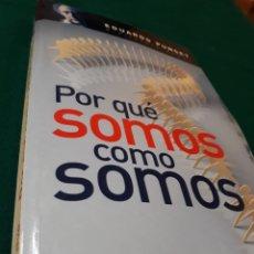 Libros: PUNSET .PORQUE SOMOS COMO SOMOS AGUILAR. Lote 165274130